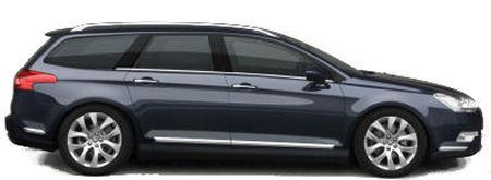 Dès son lancement, la nouvelle Citroën C5 sera déclinée en version berline et en version break, très élégante. .